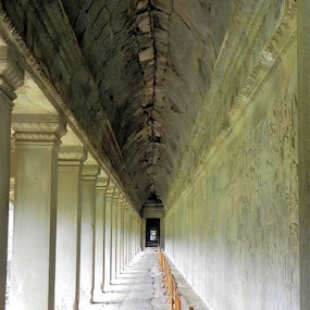Inside Angkor Wat by Jaliya Rasaputra - Buildings & Architecture Public & Historical ( temple, cambodia,  )