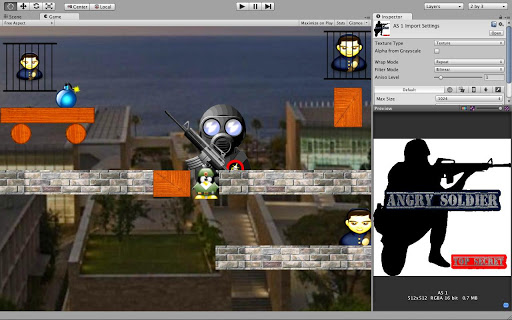 【免費街機App】Rescue Soldier-APP點子