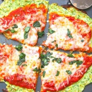 Skinny Zucchini Pizza Crust