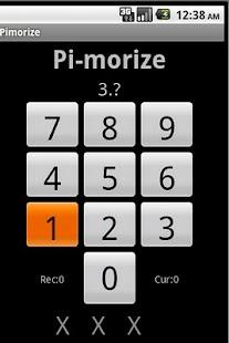Pimorize Pi Memorizer- screenshot thumbnail