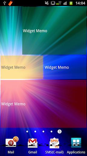玩免費生產應用APP|下載Widget Memo app不用錢|硬是要APP