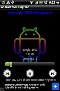 Android SMS tono - screenshot thumbnail