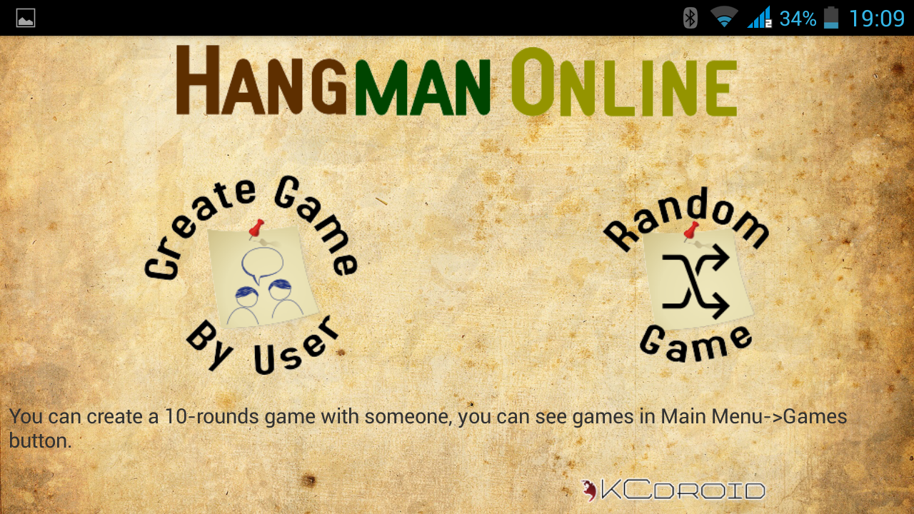 Hangman Online - screenshot