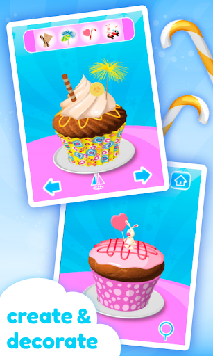 Cupcake Kids - Cooking Game  screenshots 2