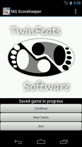 【免費休閒App】Mü ScoreKeeper-APP點子