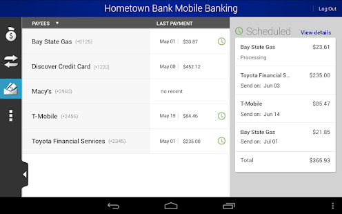 Hometown Bank Mobile Banking - screenshot thumbnail