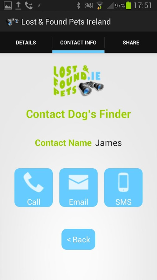 Lost & Found Pets Ireland- screenshot