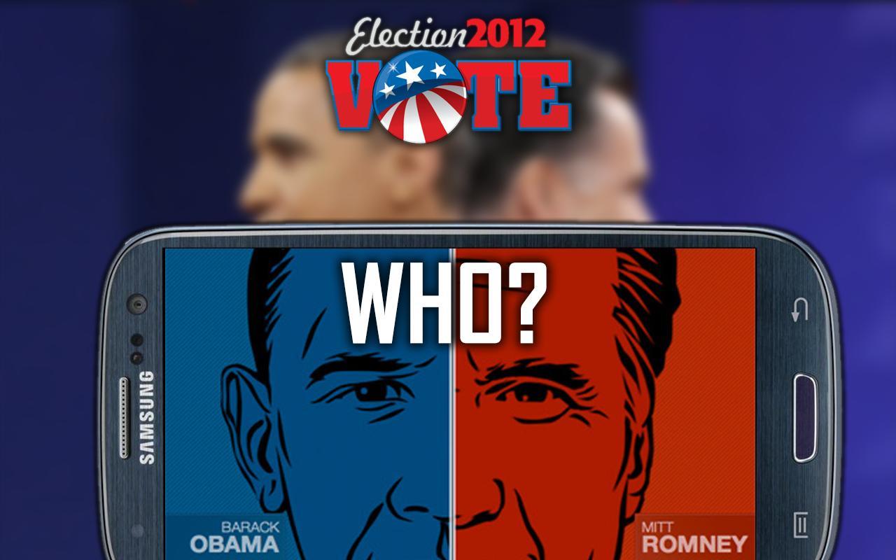 Obama vs Romney - screenshot