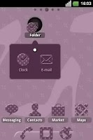 Screenshot of Fashion Pois ADW Theme