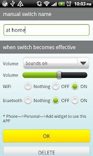 Auto SwitchLite(Wifi,BT,Sound) - screenshot thumbnail