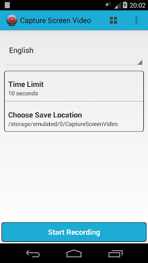 Capture Screen Video Rooted