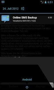 SMS Online Backup AD-FREE - screenshot thumbnail