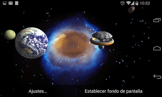 Galáxia Papel De Parede 3D