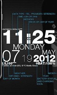 wp clock design live wallpaper - screenshot thumbnail