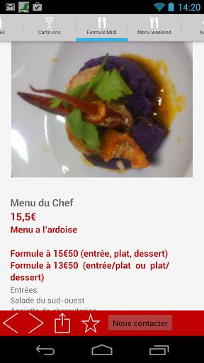 Restaurant Le Baudreuil