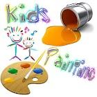 Kids Color Kids Paint Free icon