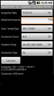 Electrical calculator apps on google play screenshot image greentooth Image collections
