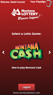 Montana Lottery e-Playslip- screenshot thumbnail