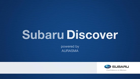 Subaru Discover - screenshot thumbnail