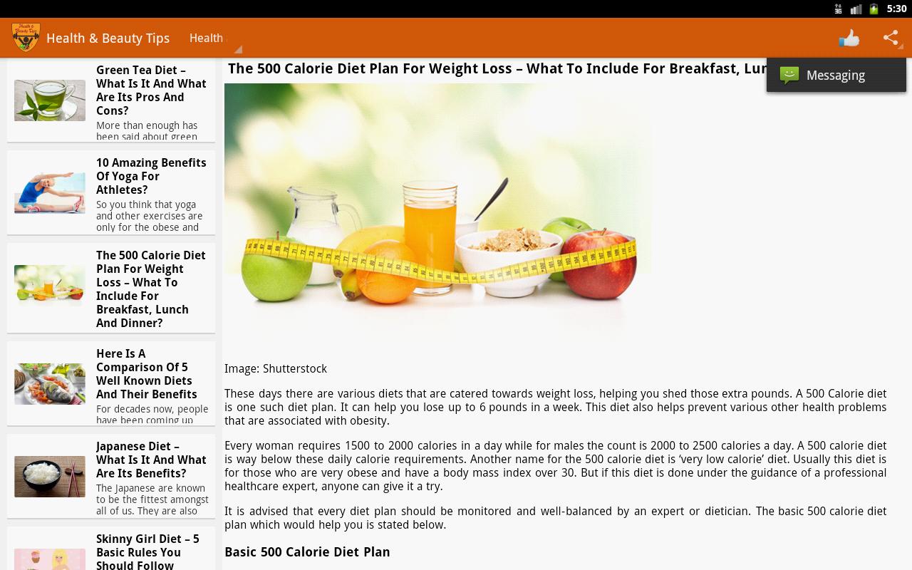 Health & Beauty Tips - screenshot