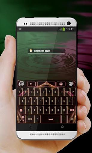玩個人化App|恐怖片花 GO Keyboard Theme免費|APP試玩