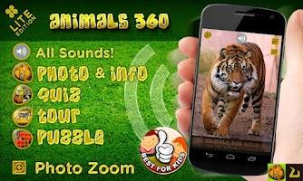 Screenshot of Animals 360