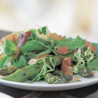 Grilled Asparagus & Prosciutto Salad
