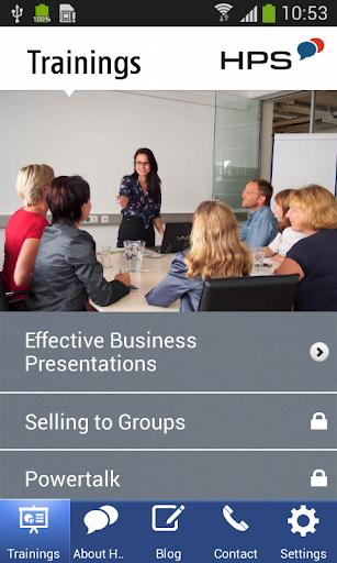 HPS Presentation App
