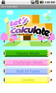 Let's Calculate (Math games)- screenshot thumbnail