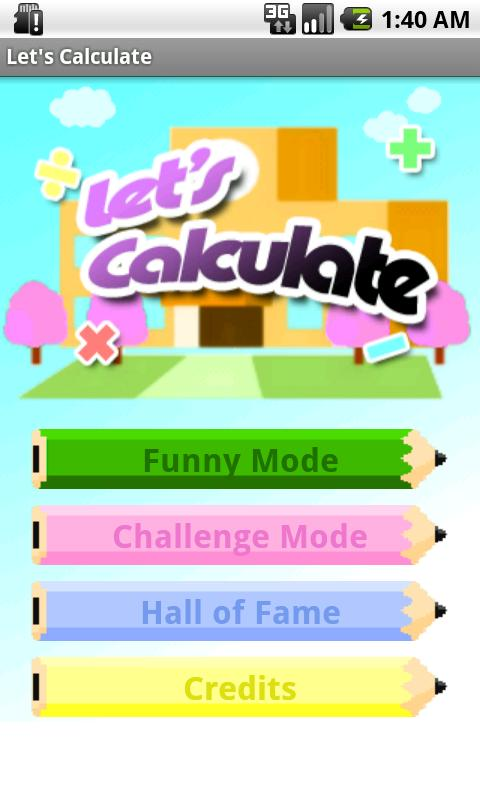Let's Calculate (Math games)- screenshot
