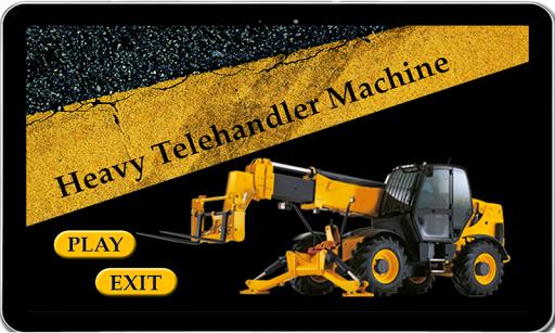 Heavy Telehandler Machine