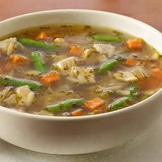 Next Day Turkey Soup.