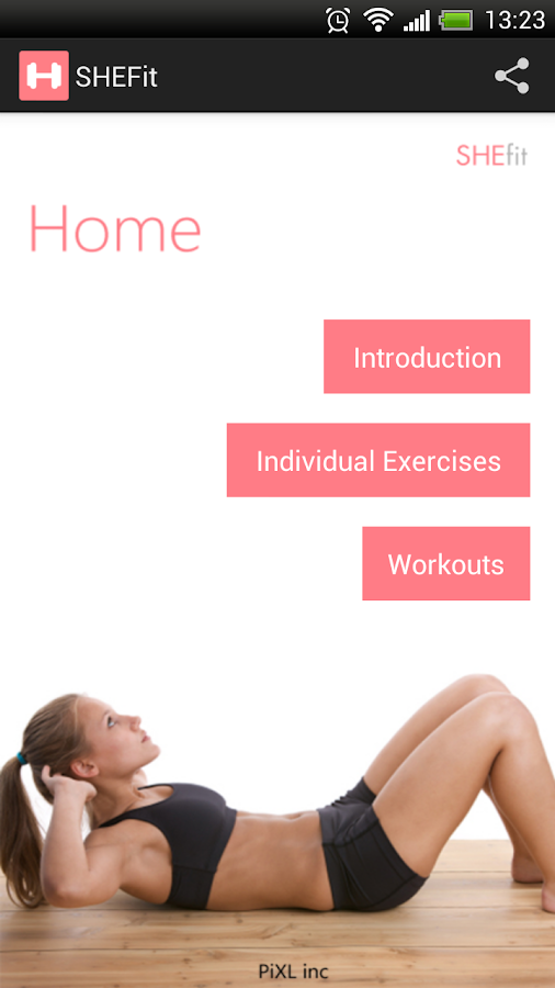 SHEfit: My Fitness Coach Free - screenshot