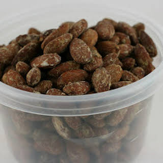 Slow Cooker Roasted Wasabi Almonds.