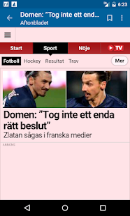 Sweden News- screenshot thumbnail
