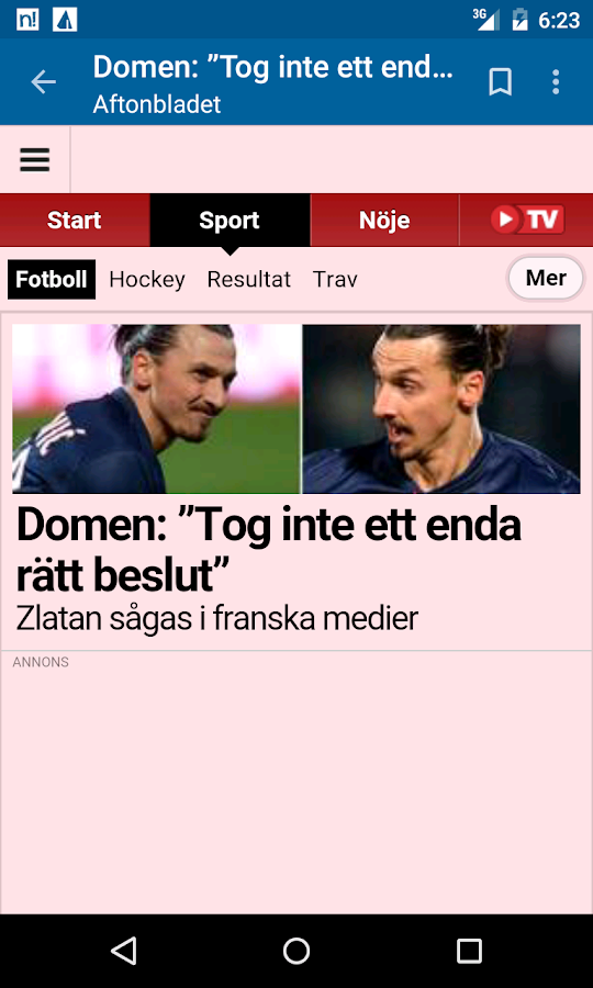 Sweden News- screenshot