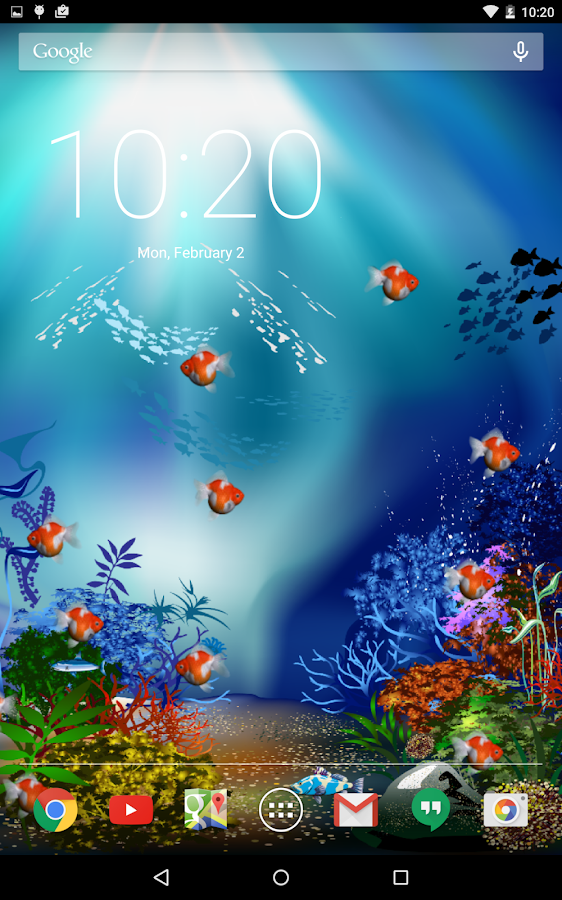 Aquarium fish live wallpaper android apps on google play for Live fish aquarium wallpaper