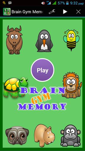 Brain Gym Memory