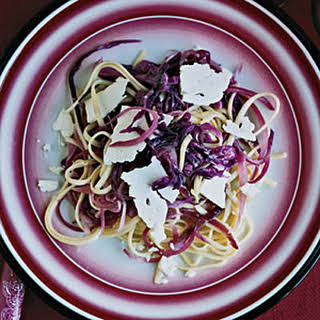 Linguine with Red Cabbage.