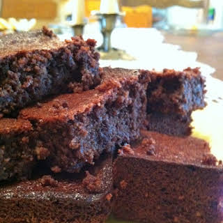 Almond Flour Brownies.
