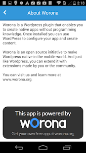 Worona Blog- screenshot thumbnail