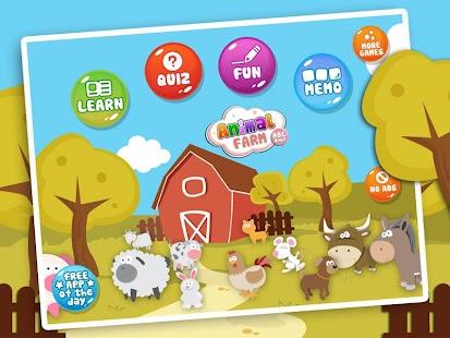 Farm Animal Sounds Names