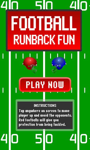Football Runback Fun