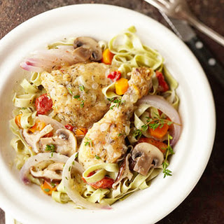 Herbed Chicken and Mushrooms.