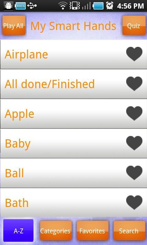 Baby Signing Lite - MSH- screenshot