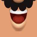 Talking lips icon