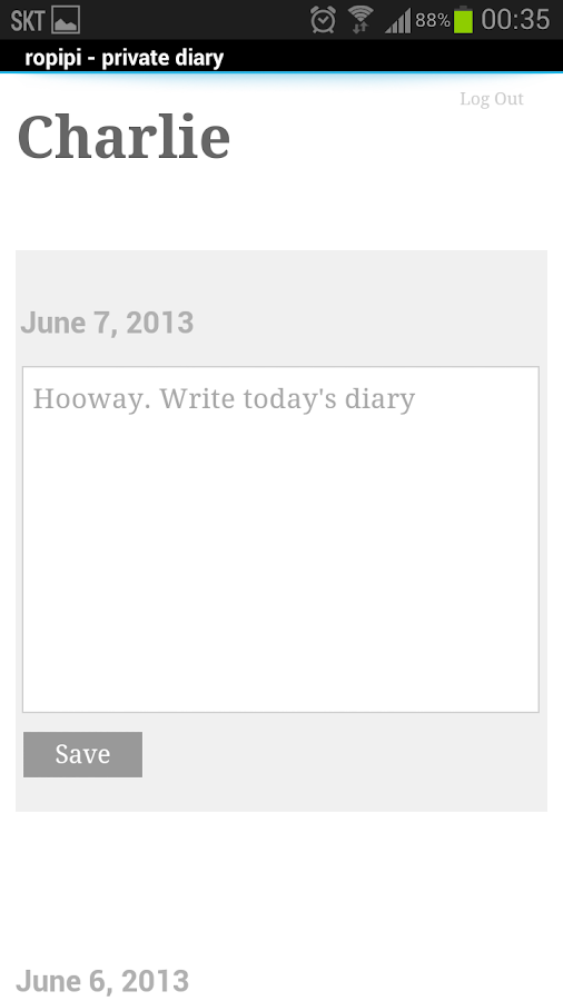 ropipi - private journal- screenshot