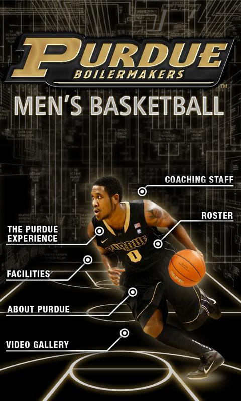 Purdue Basketball OFFICIAL App - screenshot