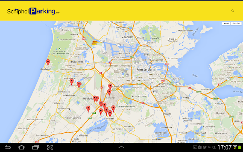 Schiphol Parking screenshot 11