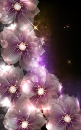 Glowing Flowers Live Wallpaper Apk Download Free for PC, smart TV